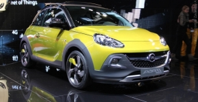 Opel Adam Rocks и Opel Adam S на Женевском автосалоне 2014
